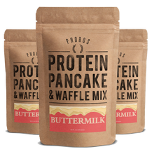 Protein Pancake & Waffle Mix, Buttermilk, 3-Pack