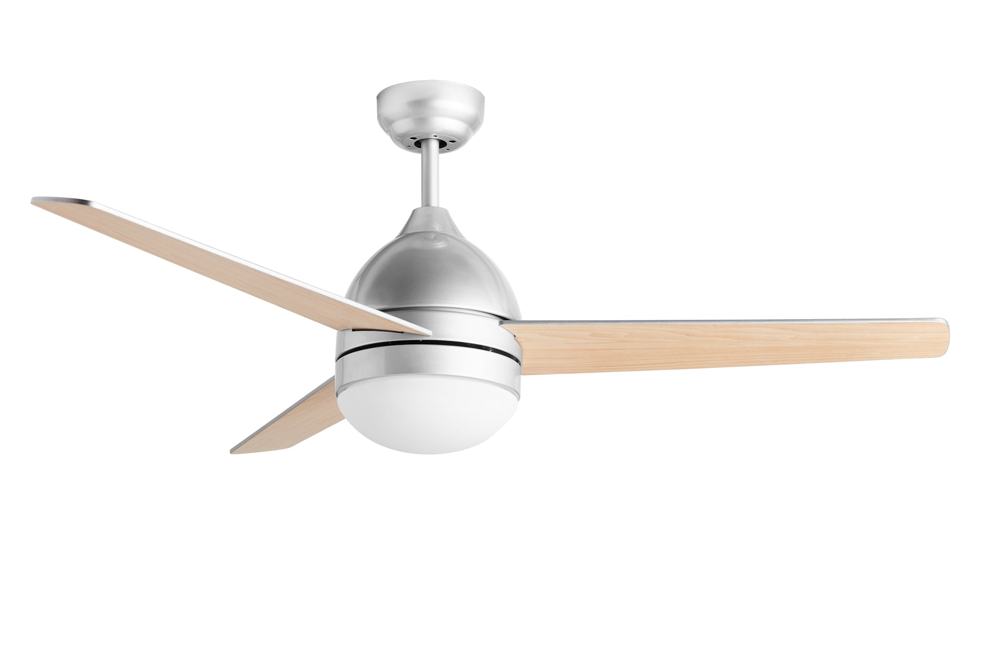 Hauslane CF2000 48 inch Modern Ceiling Fan in Sliver Finish with Quiet Motor - Huaslane Chef Range Hoods