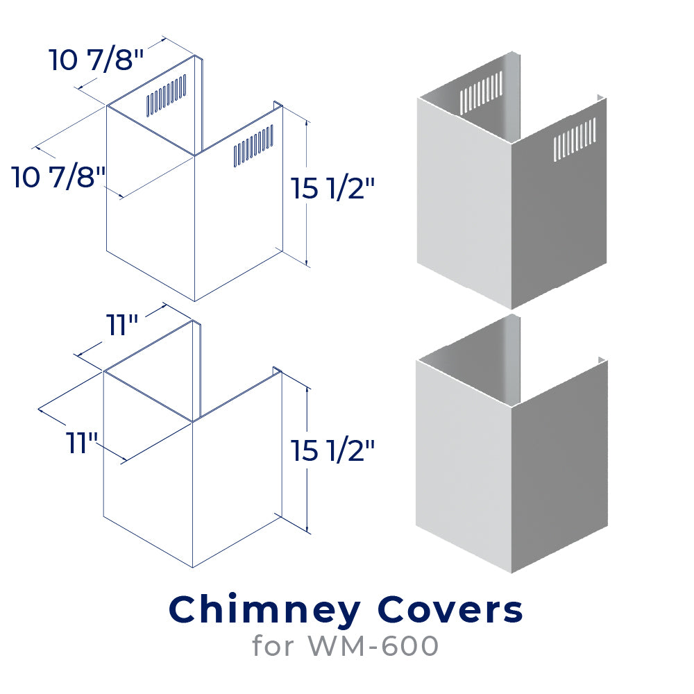 Chimney Cover Kit - CHK004 ( WM-600)