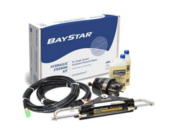 Baystar Hydraulic Steering System - 150HP or less