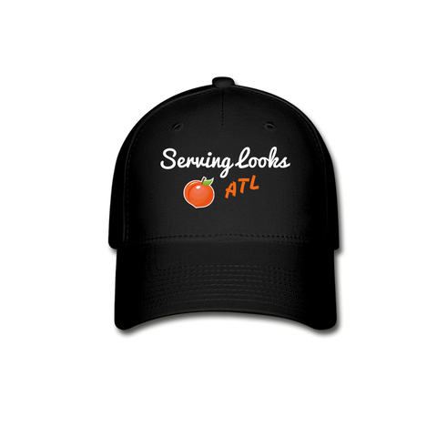 Serving Looks ATL Baseball Cap - black