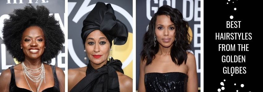 Best Hairstyles from the Golden Globes