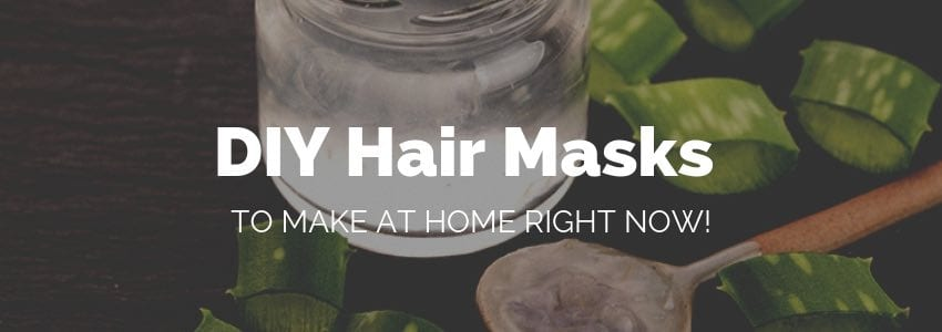 Our Favorite DIY Hair Masks to Make At Home Right Now!