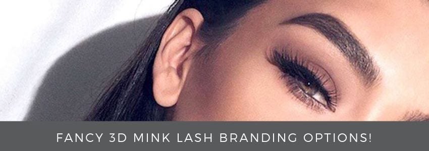 Fancy 3D Mink Lash Branding Options!
