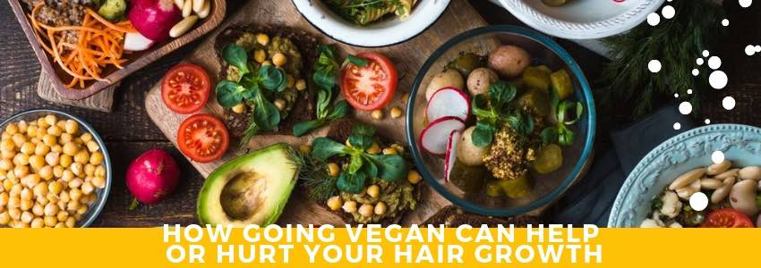 How Going Vegan Can Help or Hurt Your Hair Growth