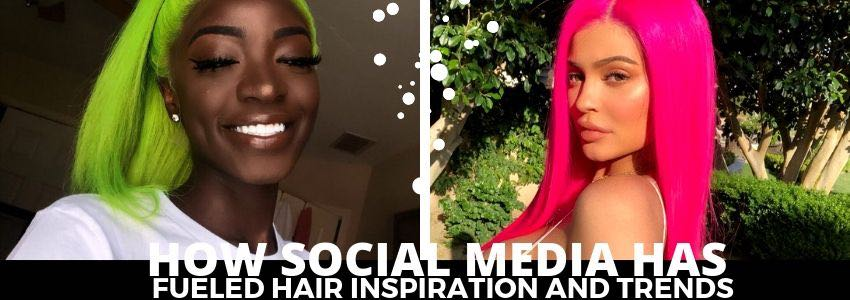 How Social Media Has Fueled Hair Inspiration and Trends