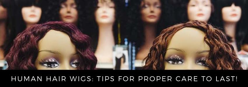 Human Hair Wigs: Tips for Proper Care to Last!