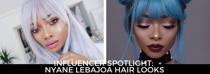 Influencer Spotlight: Nyane Lebajoa Hair Looks