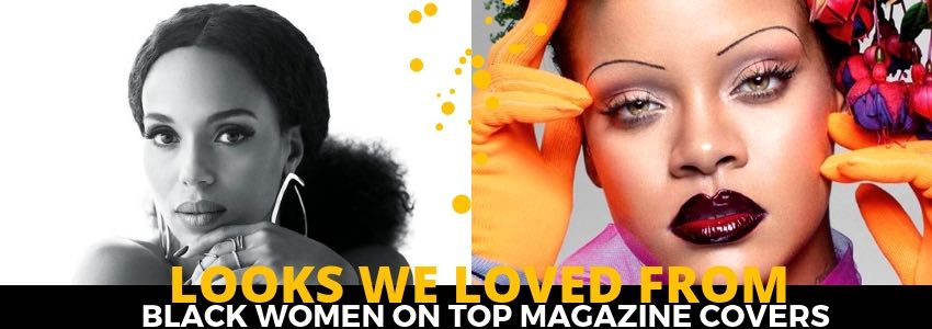 Looks We Loved from Black Women on Top Magazine Covers