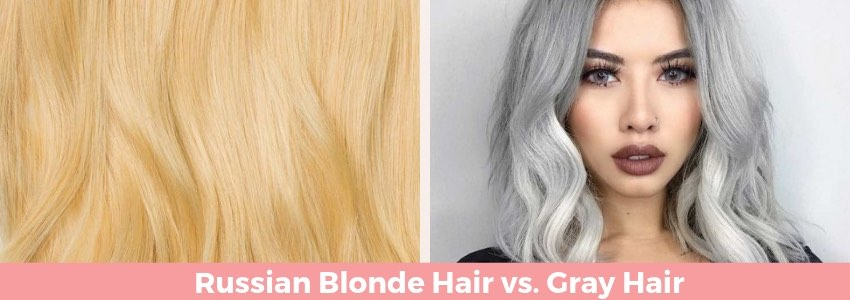 Standing Out with Hair Color: Russian Blonde Hair vs. Gray Hair