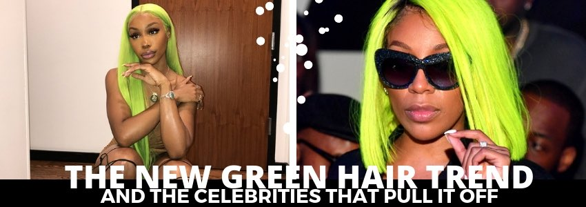 The New Green Hair Trend And The Celebrities That Pull It Off