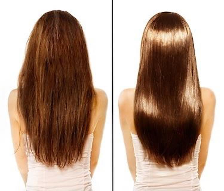 healthy vs unhealthy hair