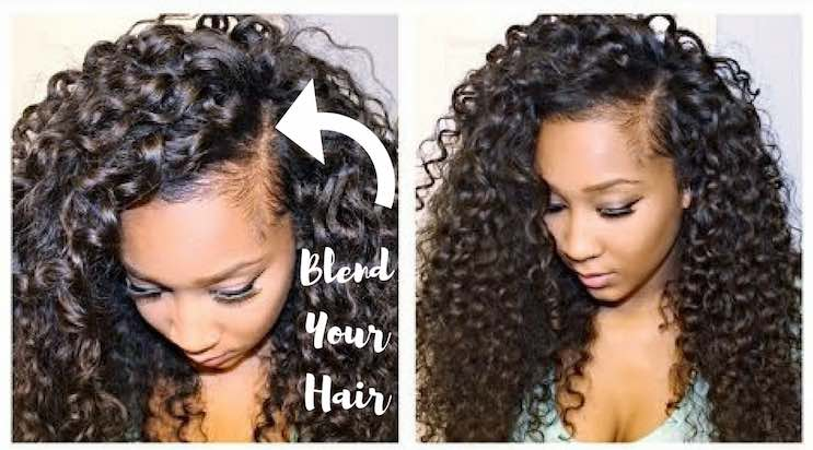 Blending Your Leave Out How To Make Your Extensions Look Natural