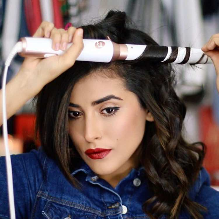 blogger-sazan-curling-hair