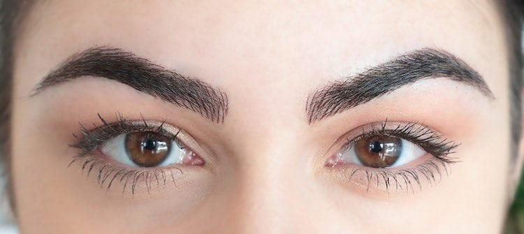 up close microblading