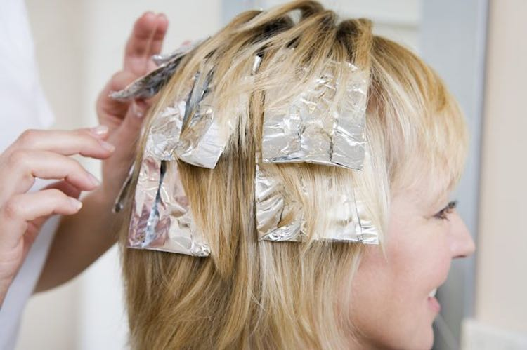 foil-hair-dye-color