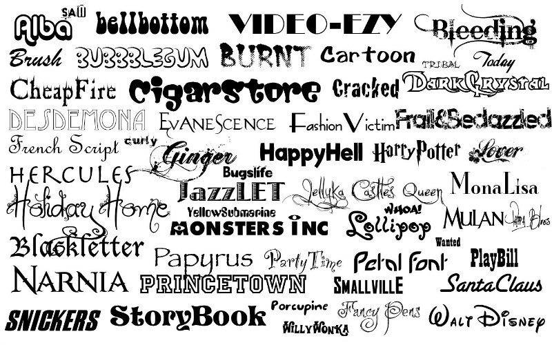 fonts-for-logos