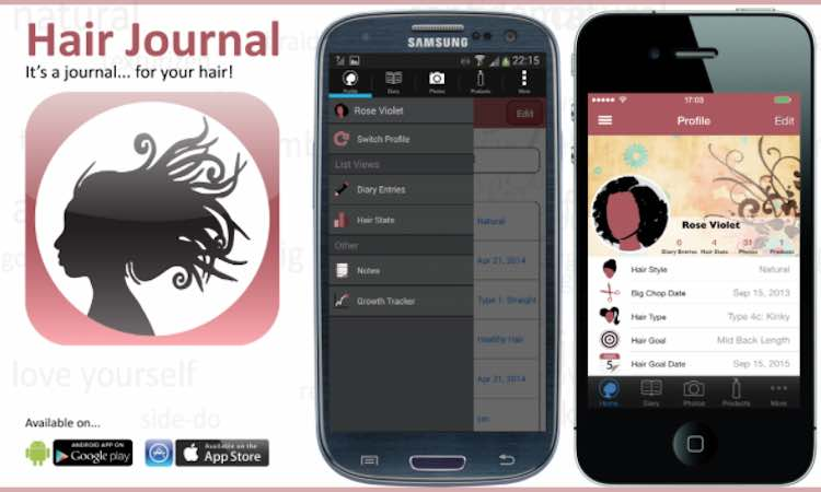 hair-journal-app