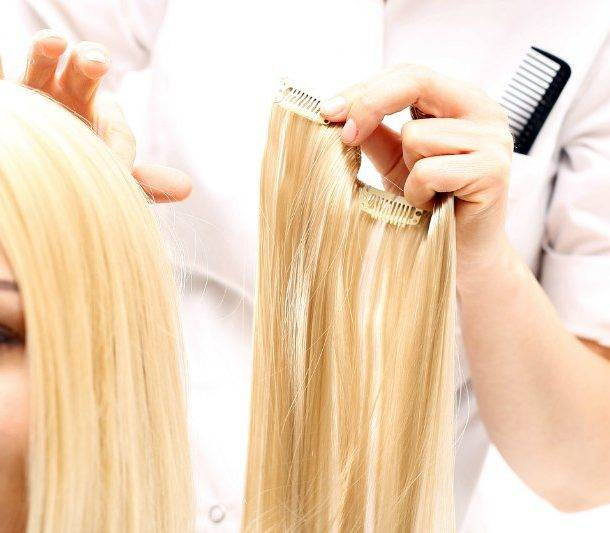 Installing Clip In Hair Extensions