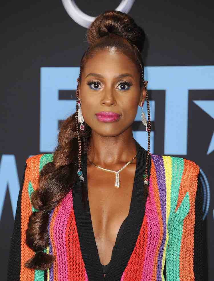 Issa Rae BET Awards hair