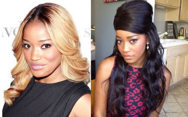 Keke palmer hair and wig switch up