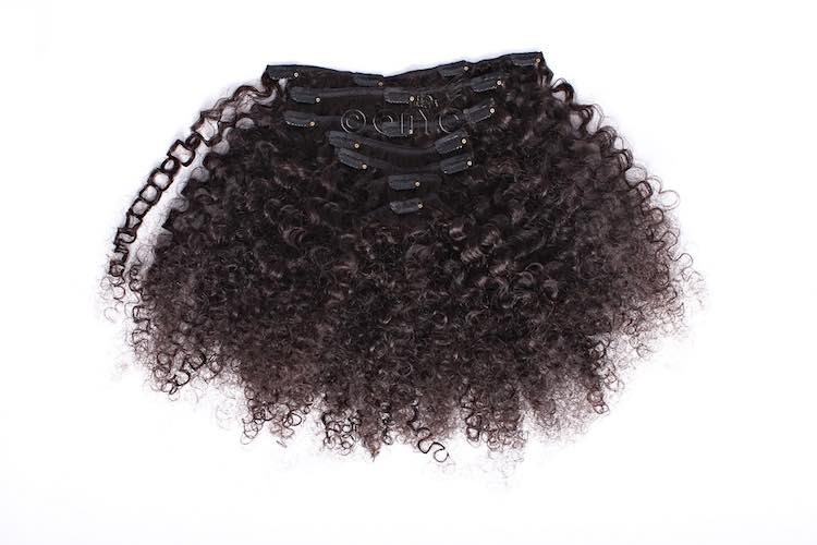 Afro kinky clip ins