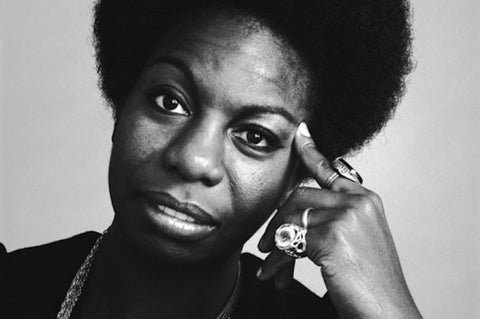 nina simone natural hair