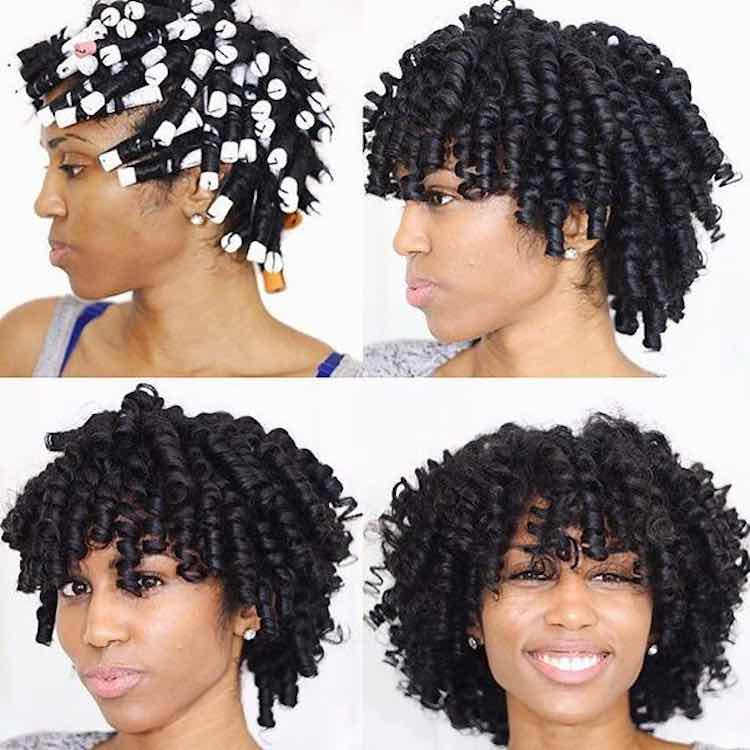 Roller Sets Can Help Your Natural Hair Growth Here S How