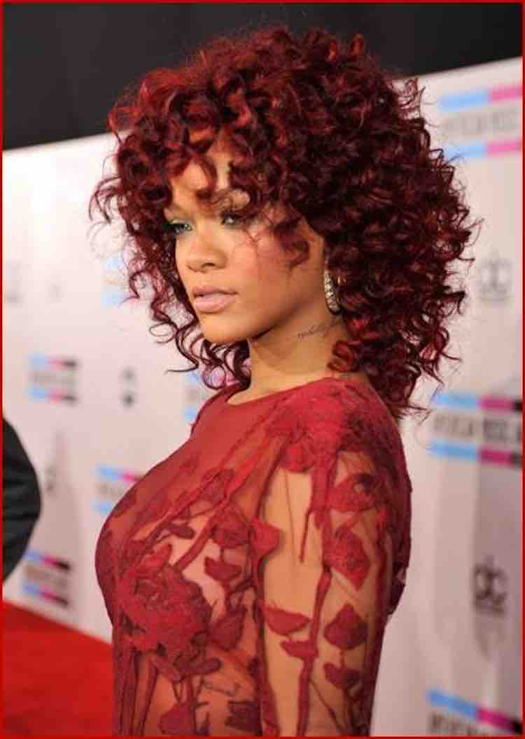 Riri Red Curly