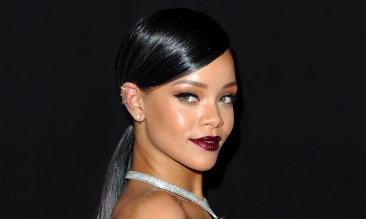 Rihanna Sleek Hair