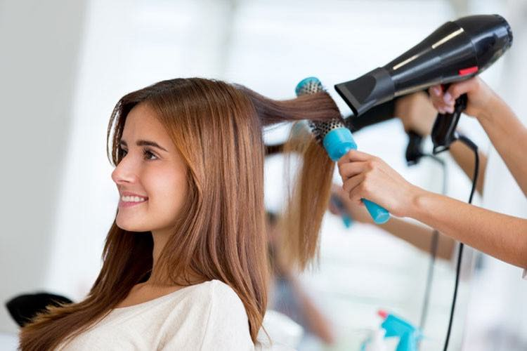 Salon Blow Dry