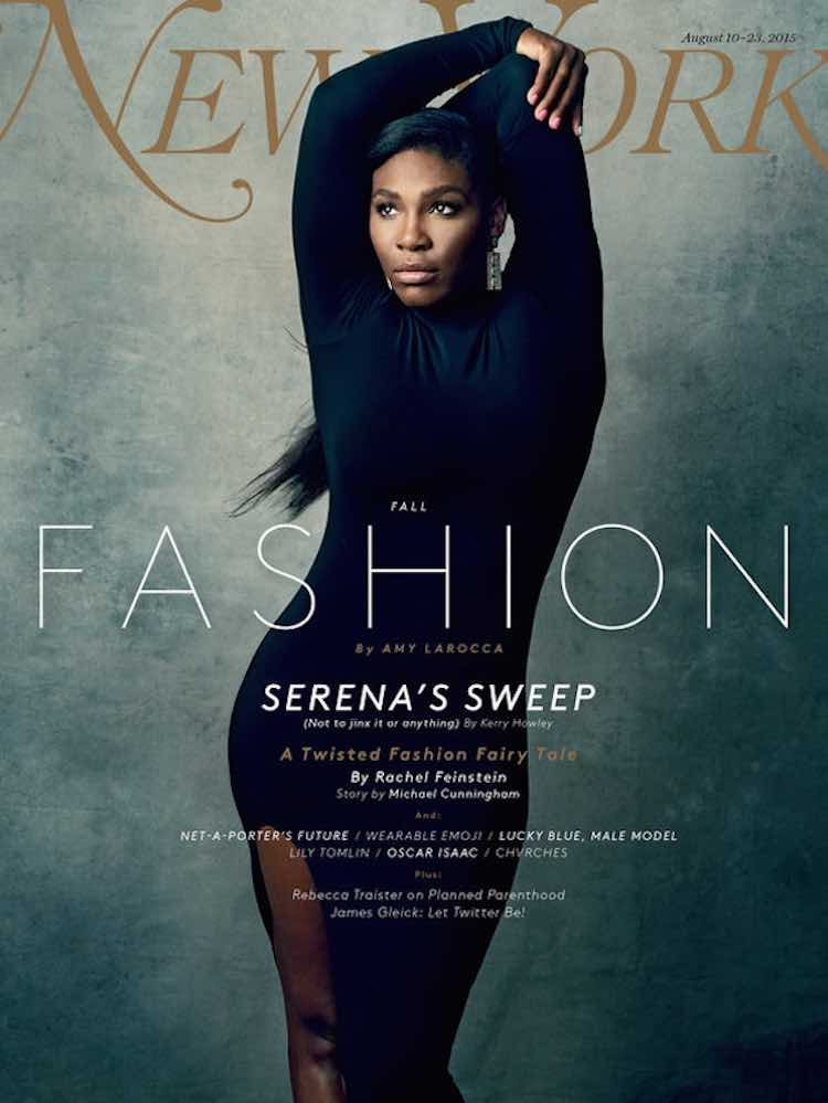 Serena williams new yorker magazine