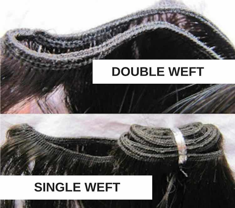 single-and-double-weft