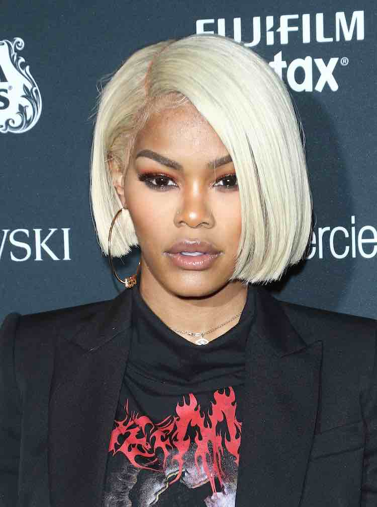 Teyana taylor blonde hair