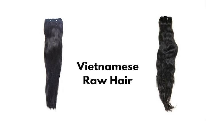 Vietnamese raw hair