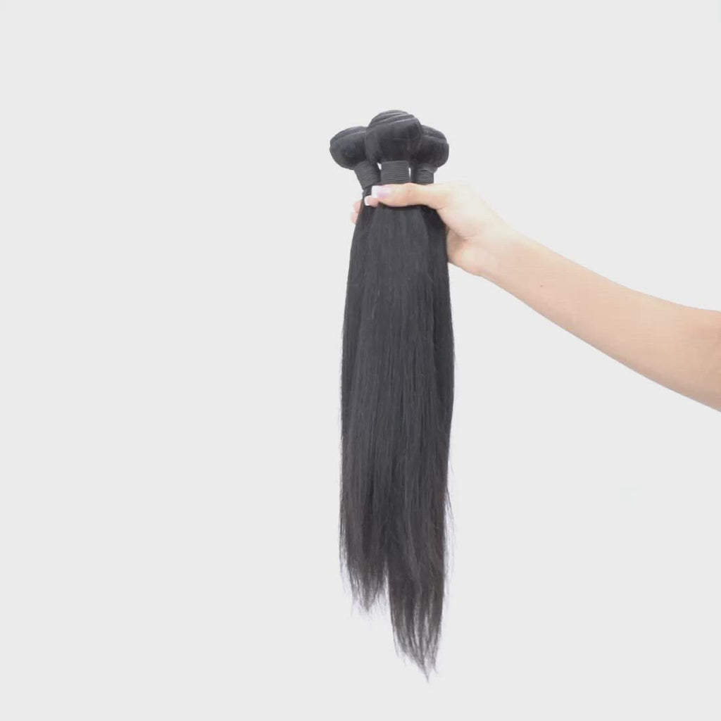 Straight Malaysian Hair Weave Bundles