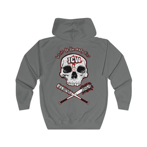 ICW 'Here's To The Crazy One's' Unisex Full Zip Hoodie