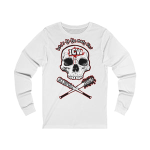 ICW 'Here's To The Crazy Ones' Unisex Jersey Long Sleeve Tee