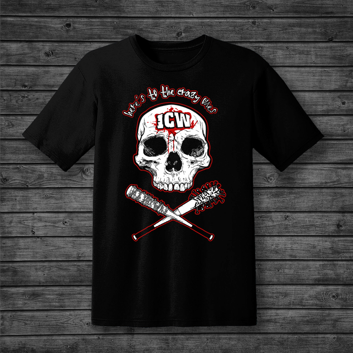 ICW 'Here's To The Crazy One's' Unisex Heavy Cotton Tee