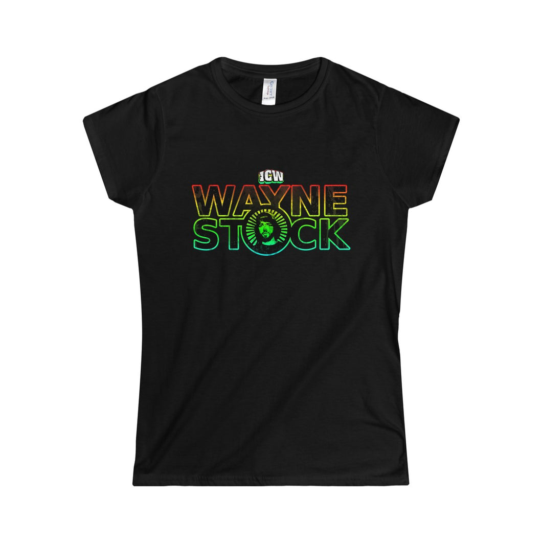 ICW Wayne Stock Women's Softstyle Tee