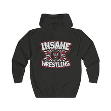 ICW Fight Club (Red/White) Logo Unisex Full Zip Hoodie