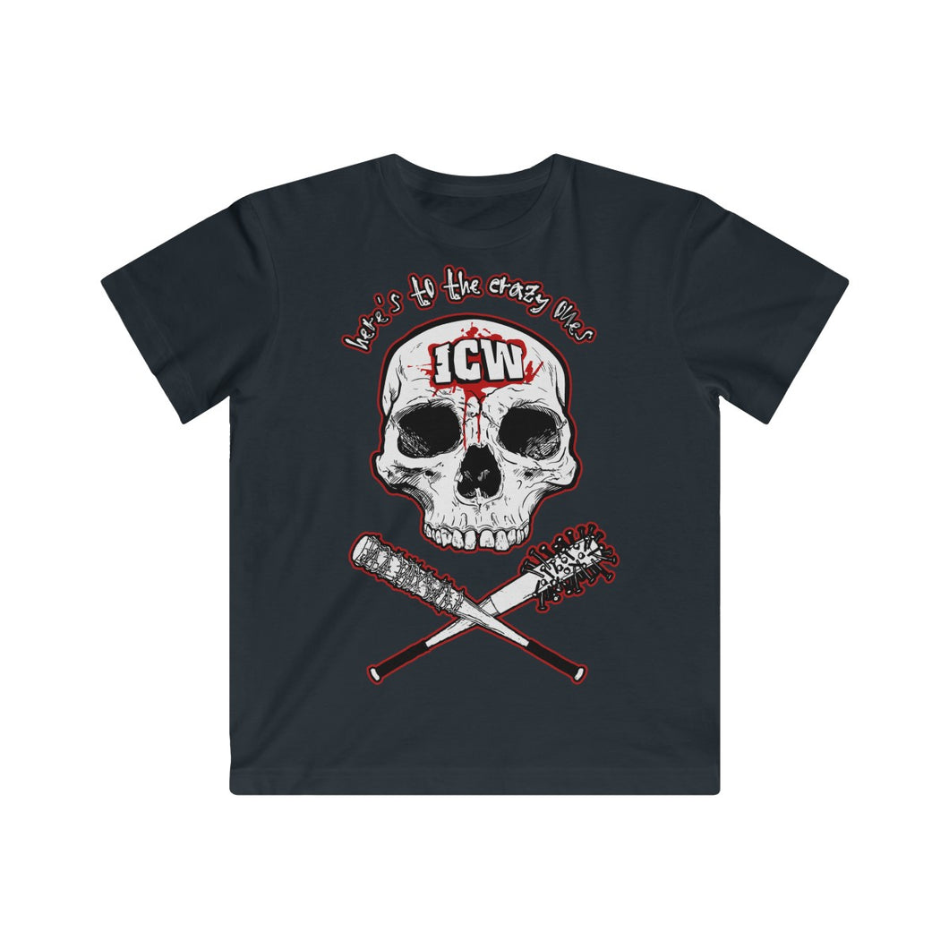 ICW 'Here's To The Crazy One's' Kids Fine Jersey Tee