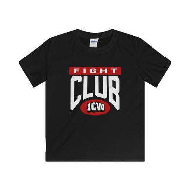 ICW Fight Club Kids Softstyle Tee