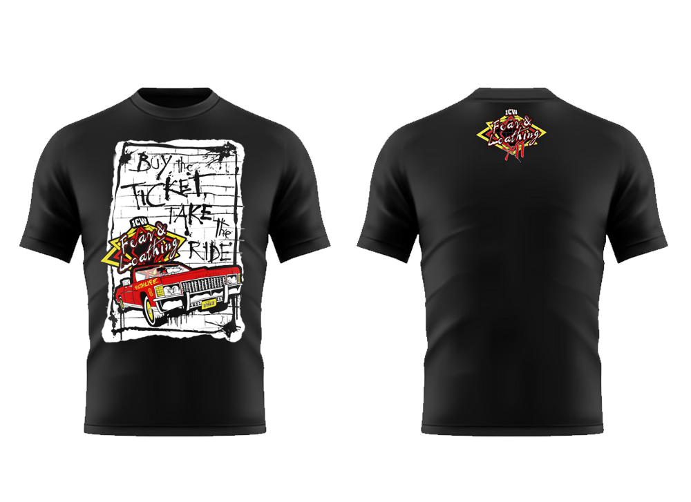 ICW 'Fear & Loathing XII' LIMITED EDITION Heavy Cotton Tee