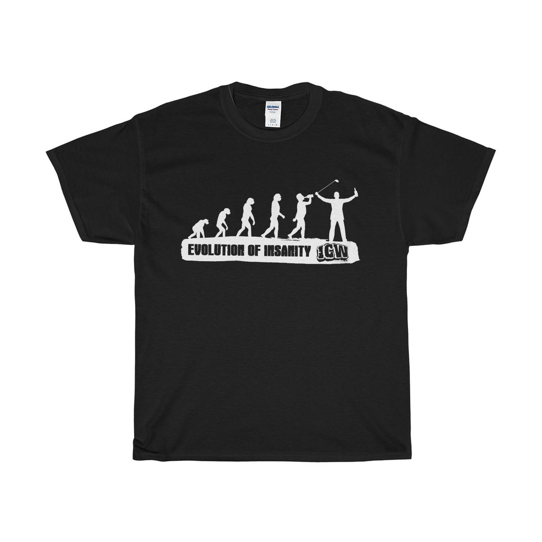 Evolution of Insanity Unisex Heavy Cotton Tee