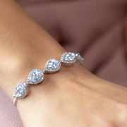Devon Pear Bracelet-wedding-Astor Chic