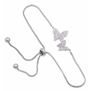 Butterfly Adjustable Bracelet-wedding jewelry-Astor Chic