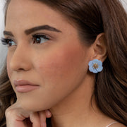 Cora Blue Earrings-jewelry-Astor Chic