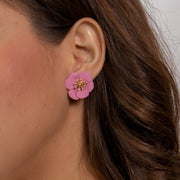 Cora Floral Earrings-jewelry-Astor Chic