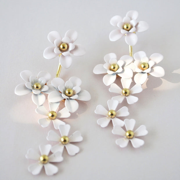 Celeste Floral Earrings-jewelry-Astor Chic